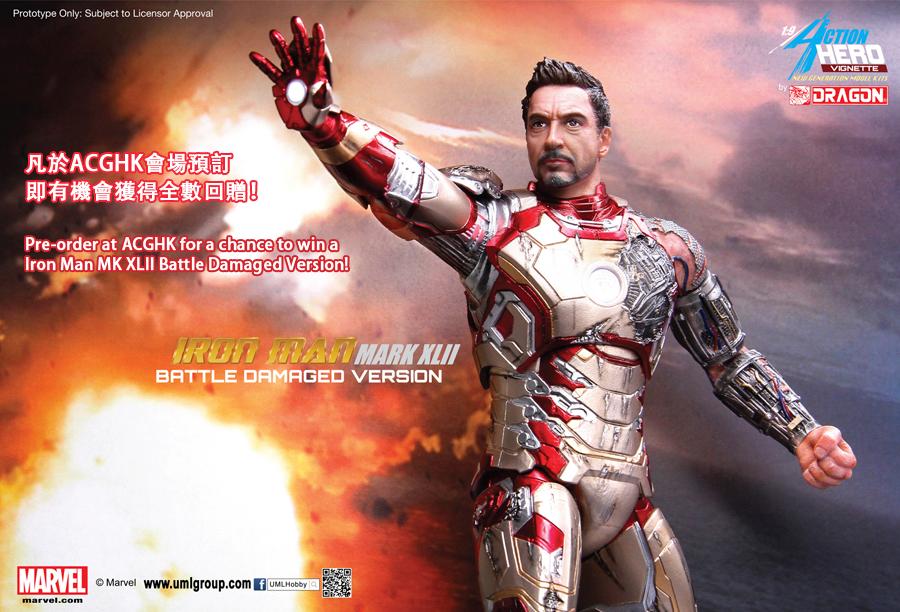 Iron Man Mark 42 3d Model Iron Man Mark 42 Figure
