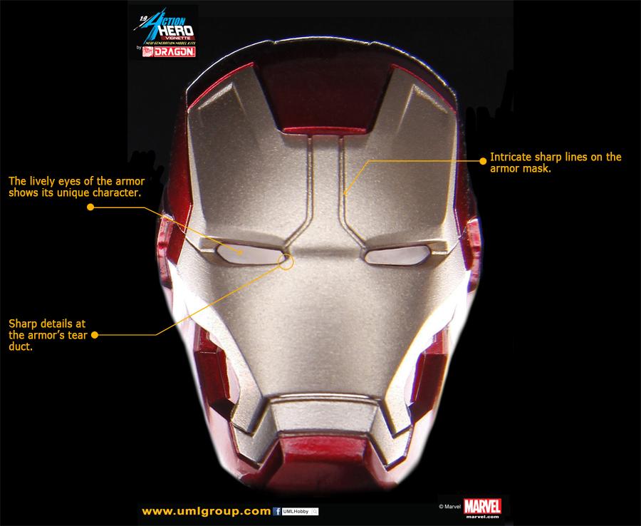 Iron Man Mark 42 3d Model Iron Man Mark 42 Figure   Uml